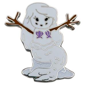 Ariel - Happy Holidays Snowman Mystery Box pin