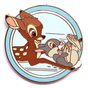 Bambi and Thumper - Disney's Best Friends Mystery Collection pin