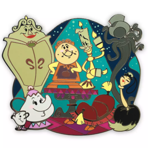 Beauty and the Beast family pin  pin
