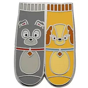 Lady and Tramp - Magical Mystery pins series 18 - character socks pin
