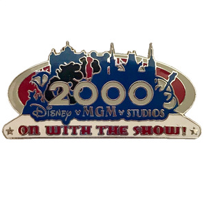 WDW - Disney • MGM Studios - On With The Show pin