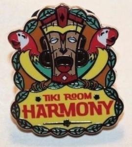 Tiki Room Harmony - Disneyland Mascots pin