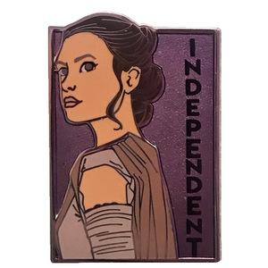 Her Universe & Karen Hallion - Intergalactic Women of Star Wars - Rey: Independant pin