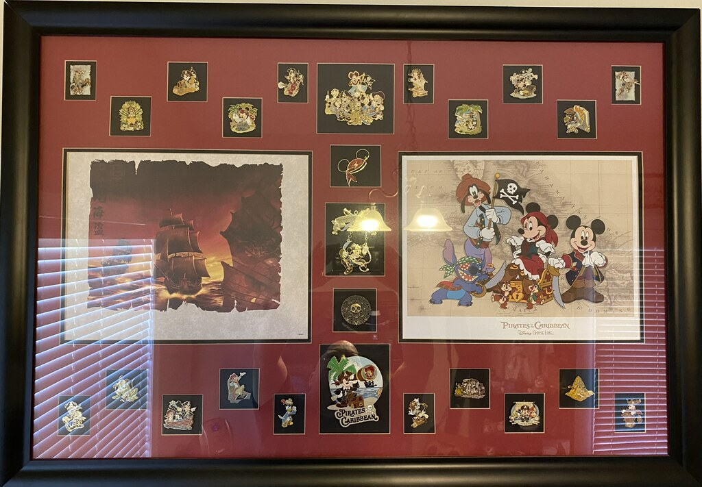 Some of Shawn's Pirates of the Caribbean pins