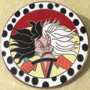 Cruella De Vil pin