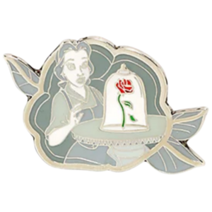 Belle - Loungefly Disney Princesses Grayscale Moments Mystery Box pin