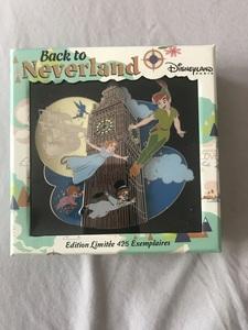 Back to neverland - Jumbo pin pin