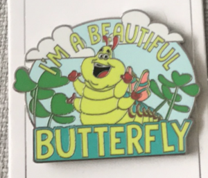 Heimlich - I'm a beautiful butterfly pin