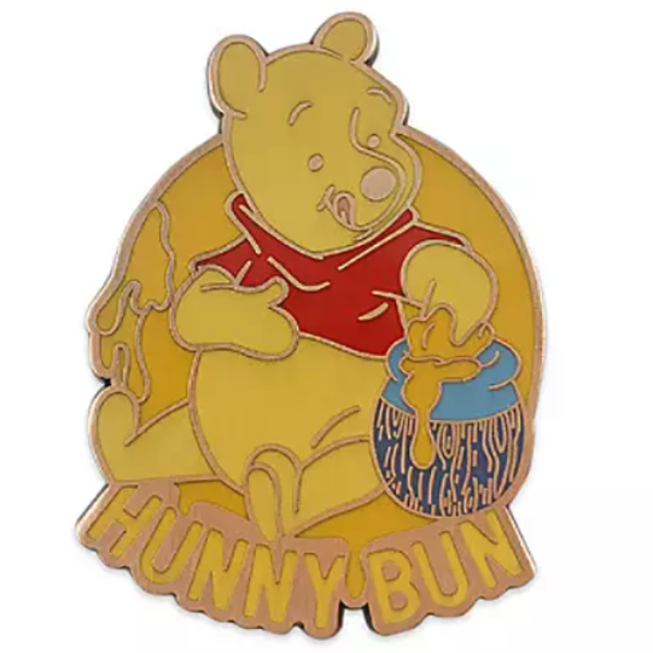 Pooh Hunny bun - Disney Character Food Mystery Pin pin