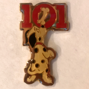 Disney Store 101 Dalmatian Award - Red pin