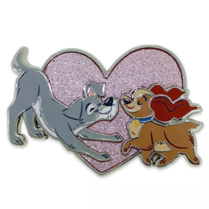 Disney Dogs pin set - Lady and the Tramp pin