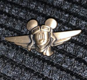 Aviator pilot pin