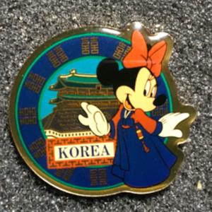 Morinaga Korea Minnie pin