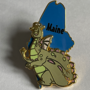 Maine - State Characters pin