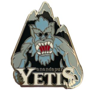 Disney World Mascots: Anandapur Yetis pin