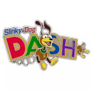 Slinky Dog dash logo pin