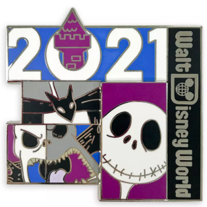 Jack Skellington 2021 Walt Disney World pin
