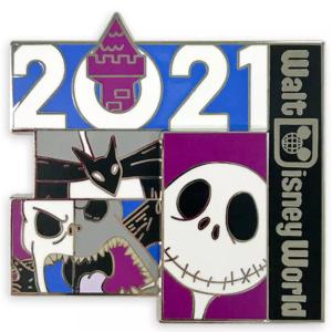 Jack Skellington 2021 Walt Disney World pin