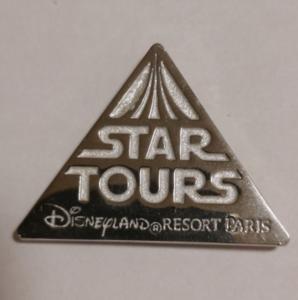Star Tours Disneyland Resort Paris pin