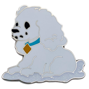 Lady - Happy Holidays Snowman Mystery Box pin