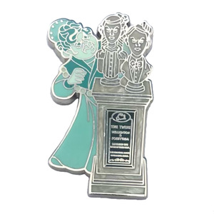 Magic Kingdom's Haunted Mansion Graveyard Mystery Set - the Twin's Wellington & Forsythia pin