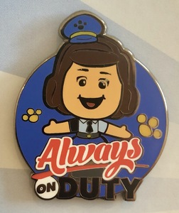 Giggle McDimples Always on Duty pin