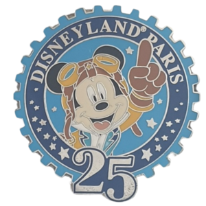 DLP - 25th Anniversary Mickey Mouse pin