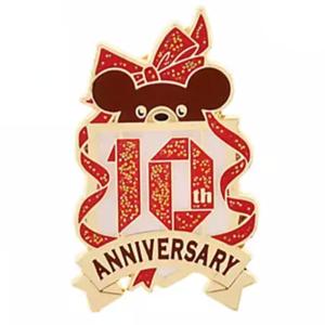 !0th Anniversary crest - UniBEARsity Pin Badge Set UniBEARsity 10th Anniversary pin