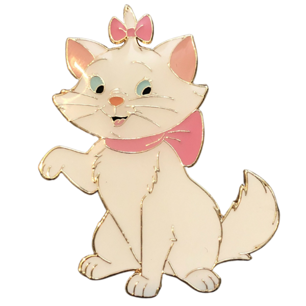 Marie one paw up pin