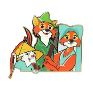 Robin Hood Cut Out - Artland pin