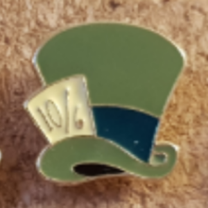 Primark Emoji- Mad Hatter's Hat pin