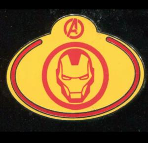 What's My Name Badge - Ironman pin