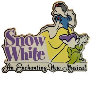 DLR - Snow White: An Enchanting New Musical pin