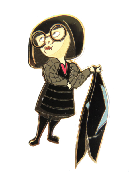 Edna Mode from The Incredibles pin