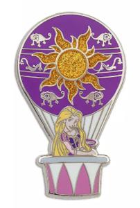Rapunzel - Hot Air Balloon pin