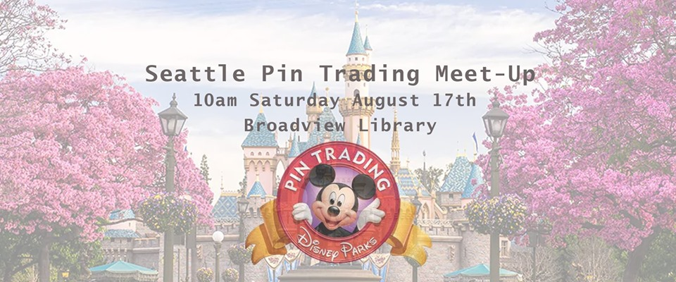 Disney Pin Trading Meet-Up