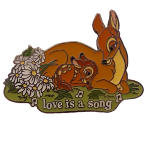 Magical Musical Moments No. 74 - Bambi - Love is a Song pin