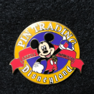 Disneyland Pin Trading Passholder Mickey  pin