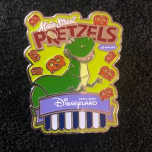 Rex HKDL Pretzel pin pin