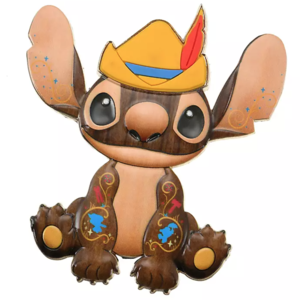 Stitch Crashes Disney - Pinocchio pin