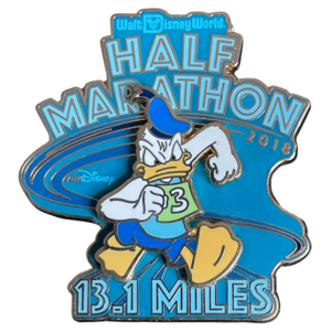 Donald Duck runDisney Half marathon 2018 pin