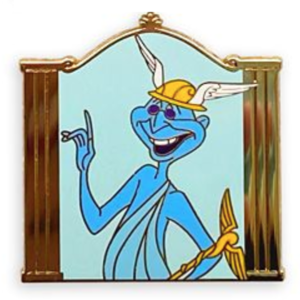 Hermes - Hercules Gods Mystery Pin Set pin
