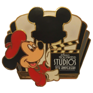 Hollywood Studios 20th Anniversary - Director Mickey pin