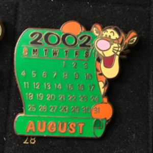DS - 12 Months of Magic - August: Tigger pin