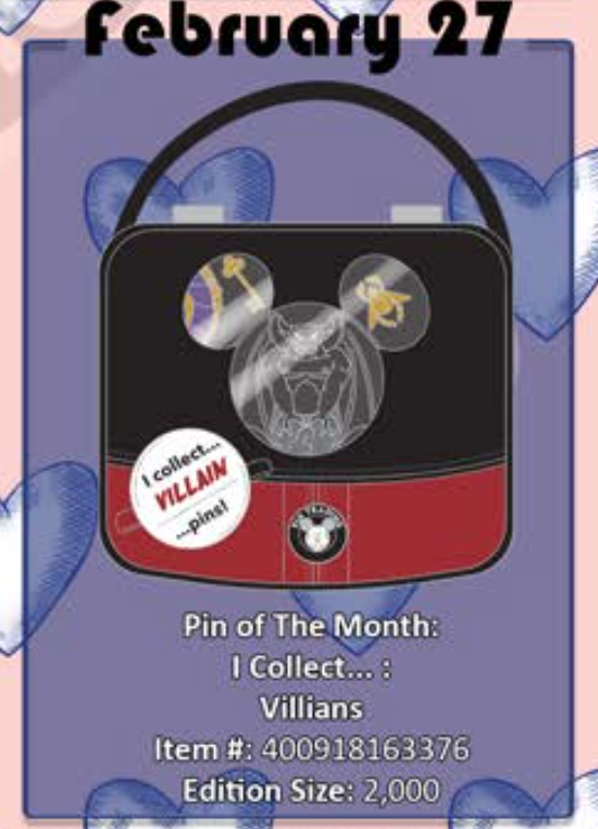 February 27th pin releases