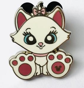 Marie - Hidden Mickey Big Feet pin