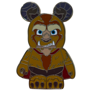 Beauty and the Beast Vinylmation - Beast  pin