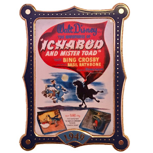 DS - 12 Months of Magic - Movie Posters - The Adventures of Ichabod and Mr. Toad (1949) pin