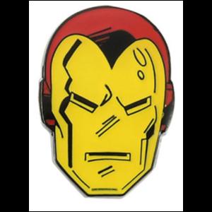 Iron Man classic face pin