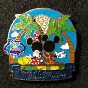 DVC World of Choices Mickey Minnie  pin